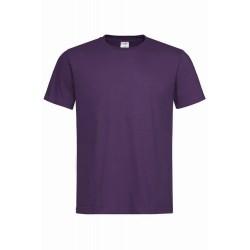 Pánské tričko bez potisku - Borůvkové