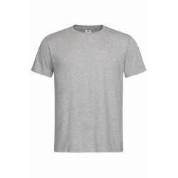 Pánské tričko bez potisku - Šedivé