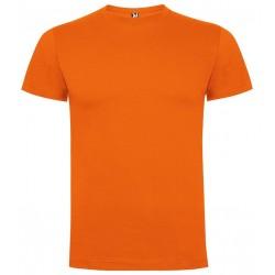 Tričko bez potisku - Oranžové