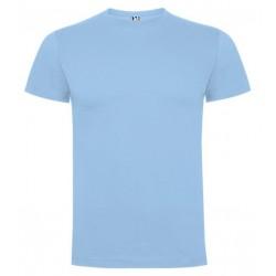 Tričko bez potisku - Světle modré