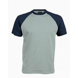 Pánské tričko bez potisku - Šedé