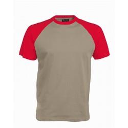 Pánské tričko bez potisku - Světle šedé