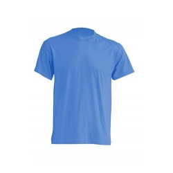 Lehké tričko bez potisku - Azurové