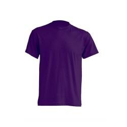 Lehké tričko bez potisku - Fialové