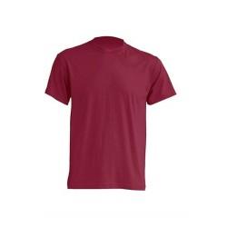 Lehké tričko bez potisku - Vínové
