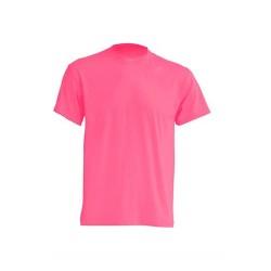 Lehké tričko bez potisku - Fuchsiové