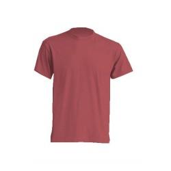 Lehké tričko bez potisku - Cihlové