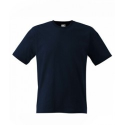 Lehčí tričko Fruit Of The Loom bez potisku - Tmavě modré