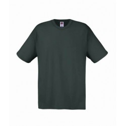 Lehčí tričko Fruit Of The Loom bez potisku - Šedé
