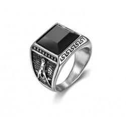 Prsten z chirurgické oceli - Zednář