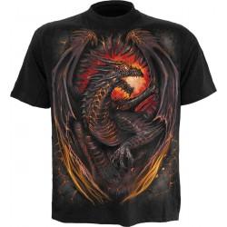 Pánské tričko Spiral Direct - Dragon Furnace