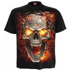 Pánské tričko Spiral Direct - Skull Blast