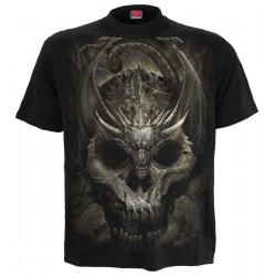 Pánské tričko Spiral Direct - Draco Skull