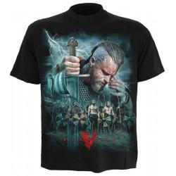 Pánské tričko Vikings Spiral Direct - Vikings Battle