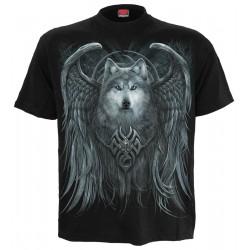 Pánské tričko Spiral Direct - Wolf Spirit