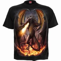 Pánské tričko Spiral Direct - Draco Unleashed