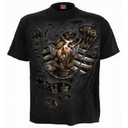 Pánské tričko Spiral Direct - Steam Punk Ripped