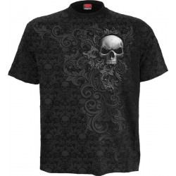 Pánské tričko Spiral Direct - Skull Scroll