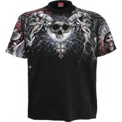 Pánské tričko Spiral Direct - Life And Death Cross