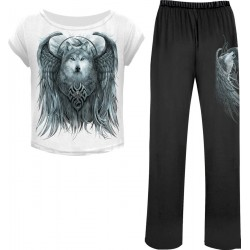 Dámské pyžamo - Set 4ks - Spiral Direct - Wolf Spirit