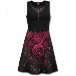 Dámské šaty Spiral Direct - Blood Rose