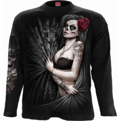 Pánské tričko s dlouhým rukávem Spiral Direct - Dead Love
