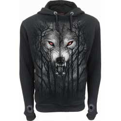 Pánská mikina Spiral Direct - Forest Wolf