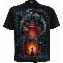 Pánské tričko Spiral Direct -  Dragon's Lair