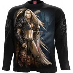 Pánské tričko s dlouhým rukávem Spiral Direct - Angel Warrior