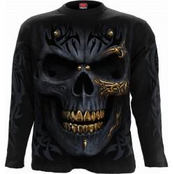 Pánské tričko s dlouhým rukávem Spiral Direct - Black Gold