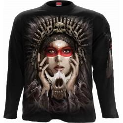 Pánské tričko s dlouhým rukávem Spiral Direct - Cry Of The Wolf