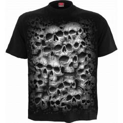 Pánské tričko Spiral Direct -  Twisted Skull