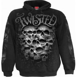 Pánská mikina Spiral Direct - Twisted Skulls