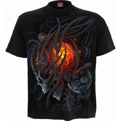 Pánské tričko Spiral Direct -  Steampunk Skull
