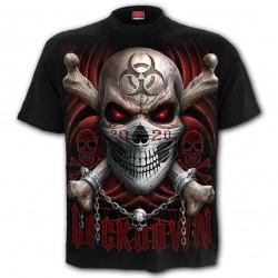 Pánské tričko Spiral Direct -  Lockdown 2020