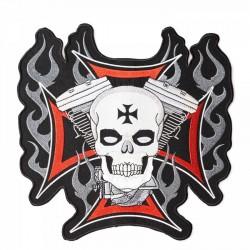 Nášivka - Iron Cross Skull