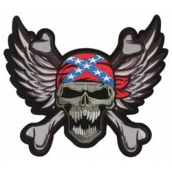 Nášivka - Confederate Skull