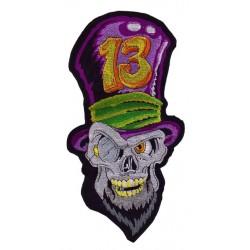 Nášivka - 13 Skull