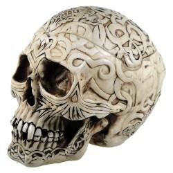 Dekorační krabička - Celtic Skull