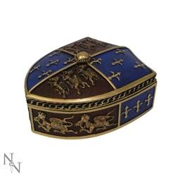 Dekorační krabička - Medieval Shield