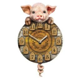 Nástěnné Hodiny - Piggin' Tickin'