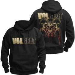 Pánská mikina Volbeat - Bleeding Crown Skull