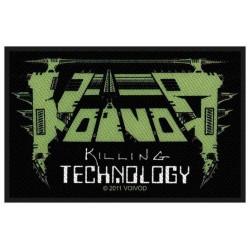 Nášivka Voivod - Killing Technology