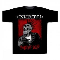 Pánské tričko The Exploited - Splatter - Punks Not Dead