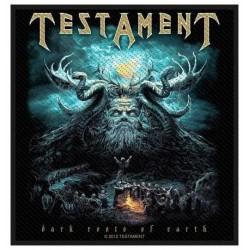 Nášivka Testament - Dark Root Of The Earth