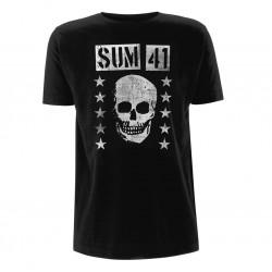 Pánské tričko Sum 41 - Grinning Skull