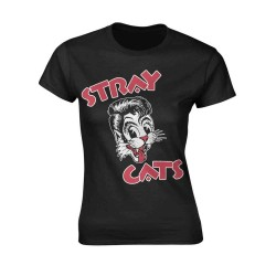 Tričko Stray Cats - Cat Logo