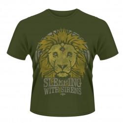 Pánské tričko Sleeping With Sirens - Lion Crest