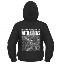 Pánská mikina Sleeping With Sirens - Starmap