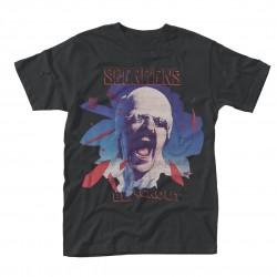 Pánské tričko Scorpions - Black Out
